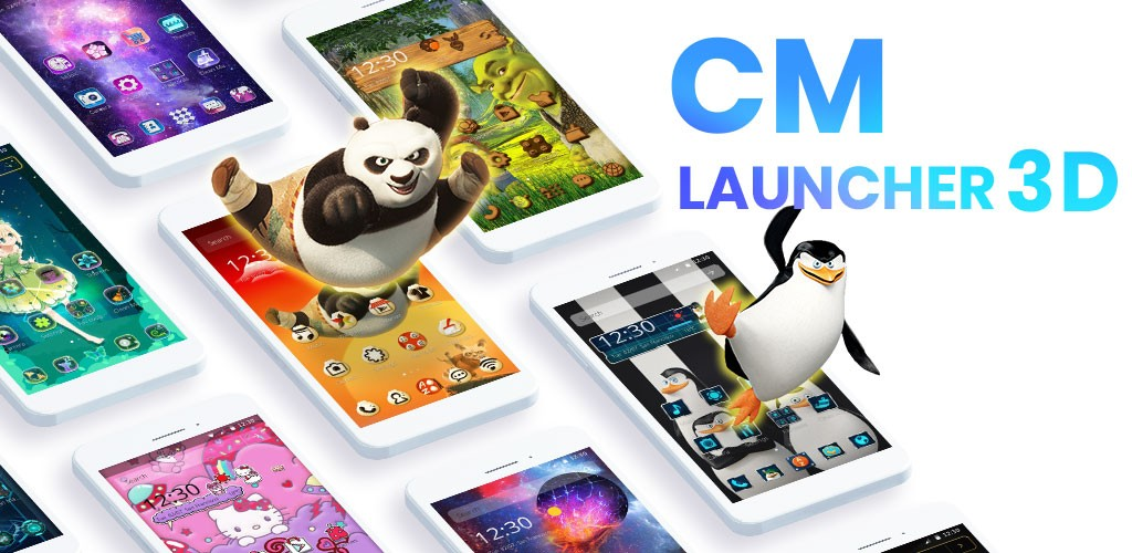 Cm Launcher 3d Apk Download