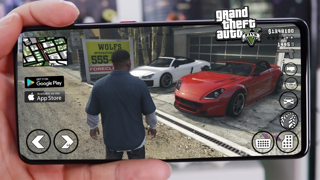 How to download GTA5 apk for android?