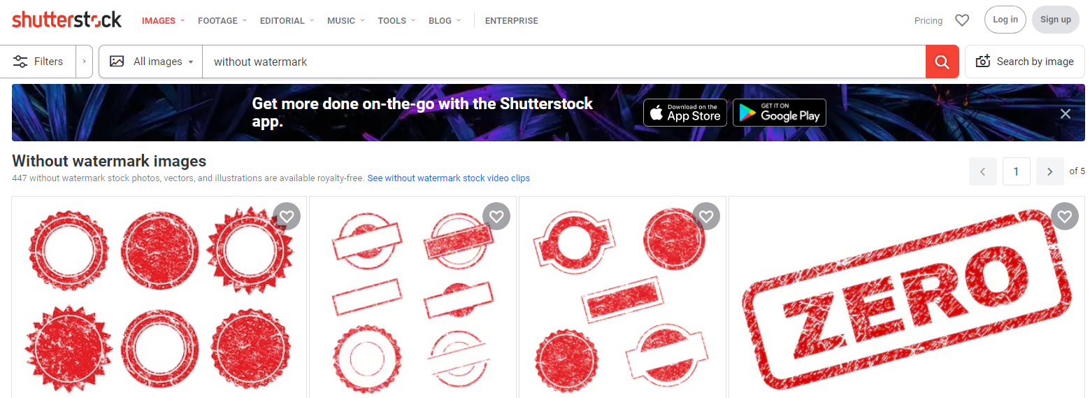 Download Shutterstock Images : Without Watermark For Free