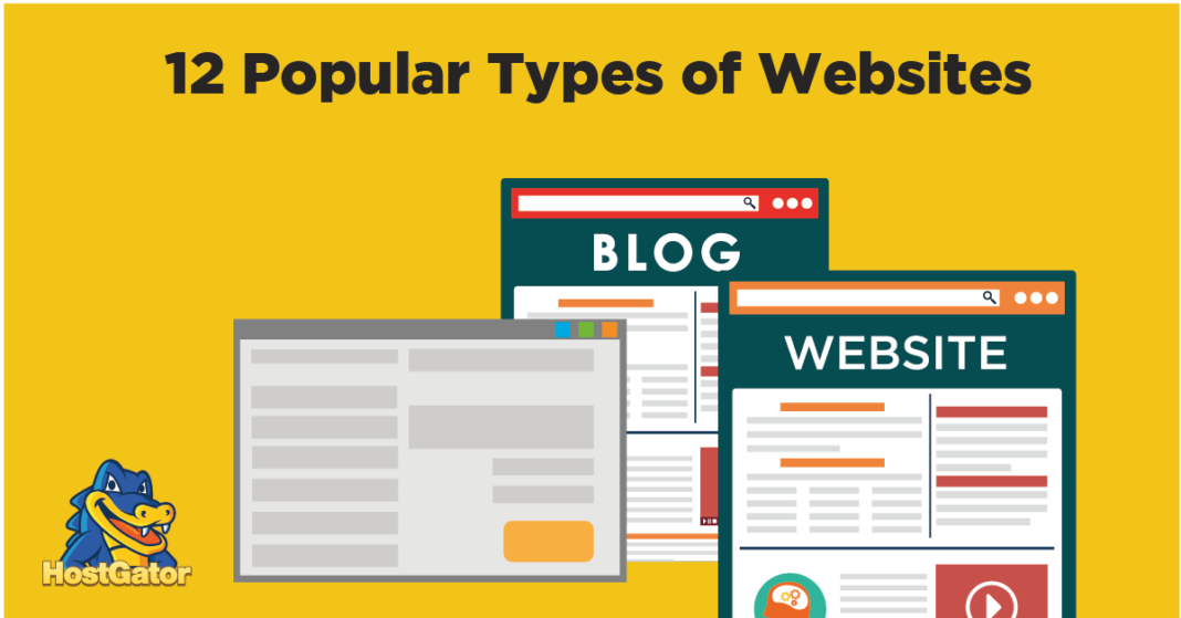 Type of website for your business