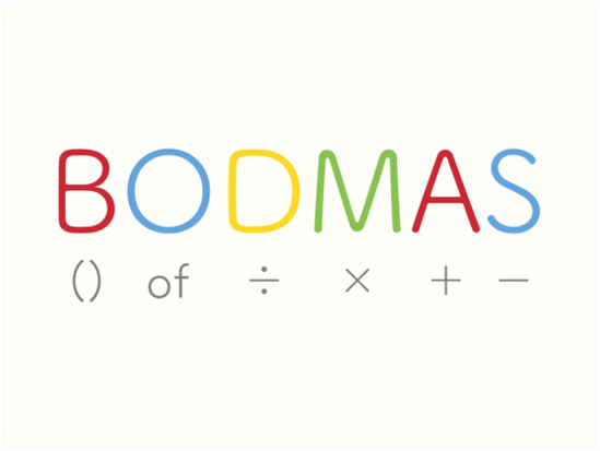 BODMAS Rule - Definition and Formula