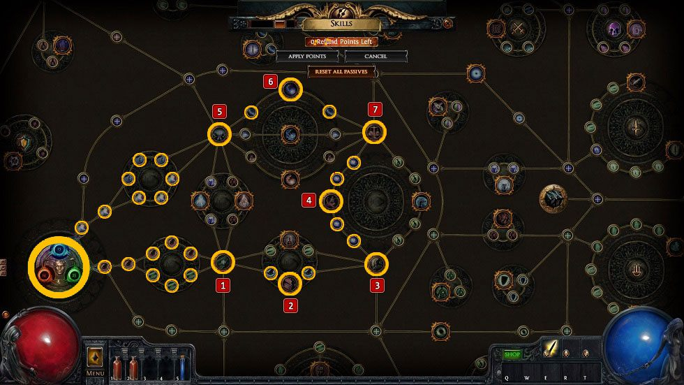 Path of Exile Shadow Class Tips