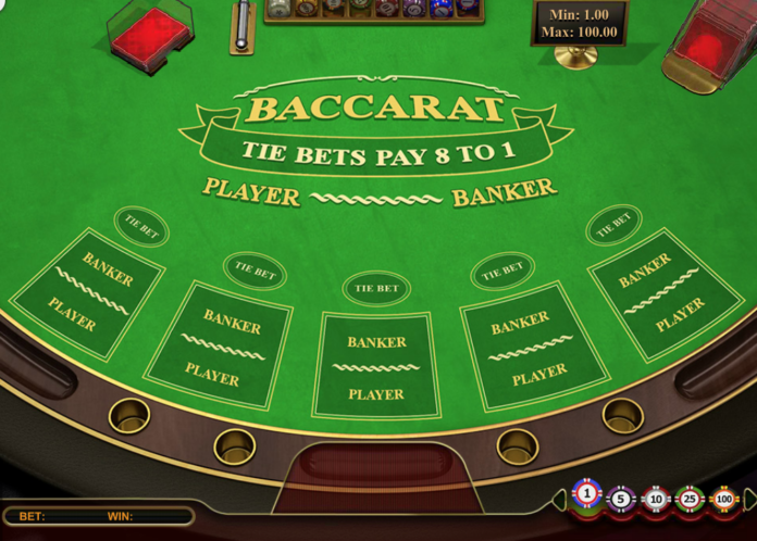 What are the gameplay and calculations involved in baccarat?