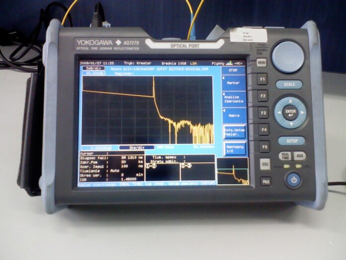 Fiber Optic Cable OTDR Testing
